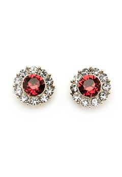 LILY AND ROSE Miss Sofia Earrings Scarlett Red Bubbleroom.fi