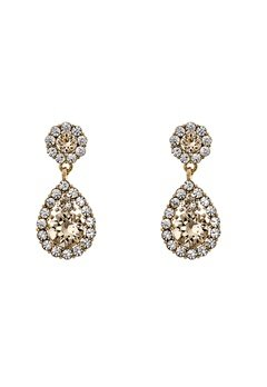 LILY AND ROSE Petite Sofia Earrings Light SIlk Bubbleroom.fi