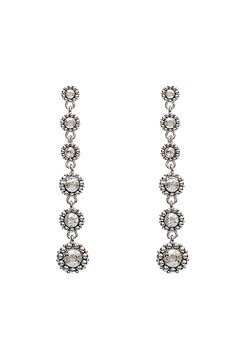 LILY AND ROSE Petite Celeste Earrings Crystal Bubbleroom.fi