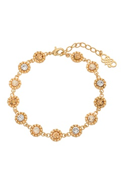LILY AND ROSE Petite Kate Bracelet Golden Shadow Bubbleroom.fi