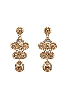 LILY AND ROSE Petite Kate Earrings Champagne Bubbleroom.fi