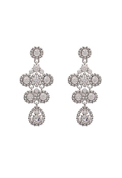 LILY AND ROSE Petite Kate Earrings Crystal Bubbleroom.fi