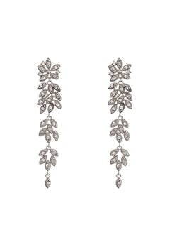 LILY AND ROSE Petite Laurel Earrings Crystal Bubbleroom.fi
