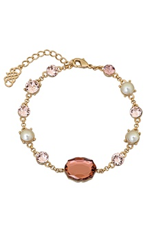 LILY AND ROSE Rosie Bracelet Pink Champagne Bubbleroom.fi