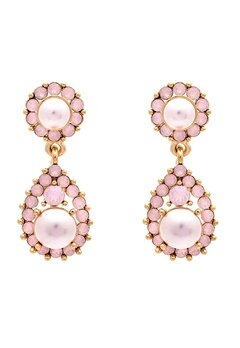LILY AND ROSE Sofia Pearl Earrings Rosaline Bubbleroom.fi