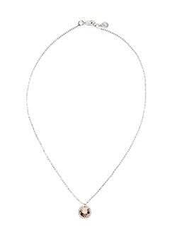 SNÖ of Sweden Lissy Pendant Necklace Silver/Vintage Rose Bubbleroom.fi
