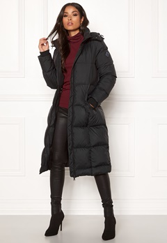 GANT Long Down Coat 5 Black Bubbleroom.fi