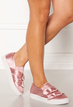 LOST INK Hally Side Bow Slip On Pink Bubbleroom.fi