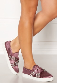 LOST INK Kara Jewel Bow Slip On Pink Bubbleroom.fi
