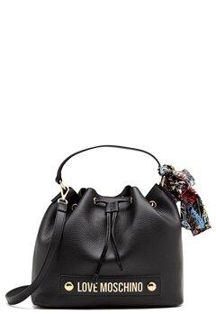 Love Moschino Love II Bag Black Bubbleroom.fi