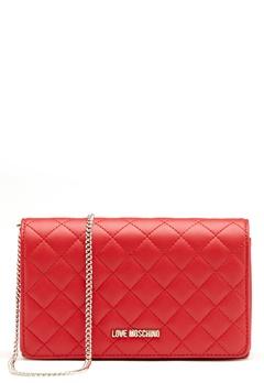 Love Moschino Love M Small Bag Red Bubbleroom.fi