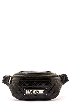 Love Moschino Bum Bag Black Bubbleroom.fi
