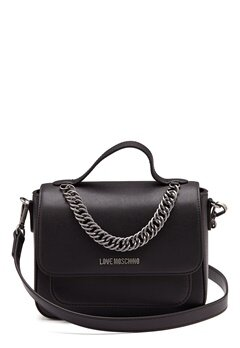 Love Moschino Easy Chain Bag Black Bubbleroom.fi
