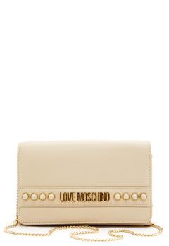 Love Moschino Evening Bag 110 Ivory Bubbleroom.fi