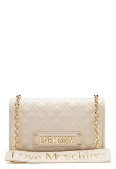 Love Moschino Evening Bag Ivory Bubbleroom.fi