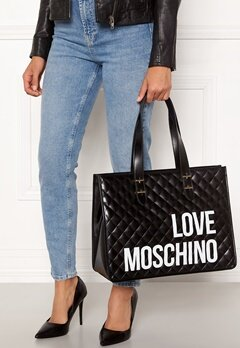 Love Moschino I Love Shopping Bag 000 Black Bubbleroom.fi