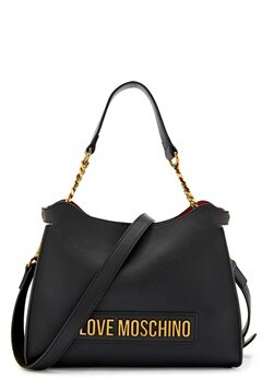 Love Moschino Lettering Bag 000 Black Bubbleroom.fi
