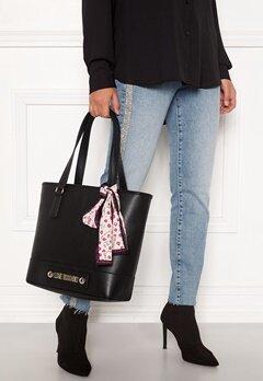 Love Moschino Love Moschino Letter Bag Black Bubbleroom.fi