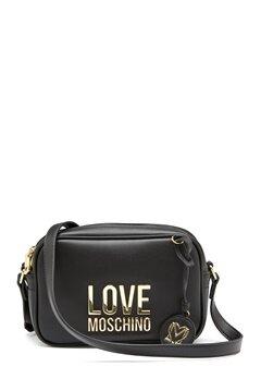Love Moschino Love Moschino Lettering Bag 00A Black Bubbleroom.fi