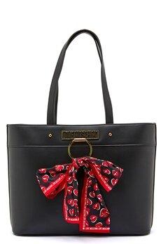 Love Moschino Love Moschino Scarf Bag 000 Black Bubbleroom.fi