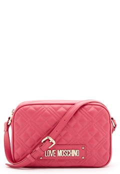 Love Moschino New Shiny Quilted Bag 604 Fuxia Bubbleroom.fi