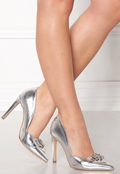 Love Moschino Pumps 902 Silver Bubbleroom.fi