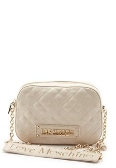 Love Moschino Quilted Bum Bag Ivory Bubbleroom.fi