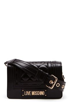 Love Moschino Quilted Shoulder Bag Black Bubbleroom.fi