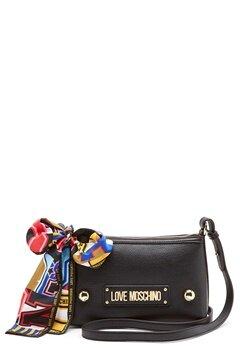 Love Moschino Small Scarf Bag Black Bubbleroom.fi