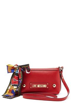 Love Moschino Small Scarf Bag Red Bubbleroom.fi