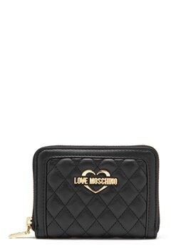 Love Moschino Wallet 00B Black/Gold Bubbleroom.fi