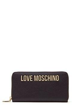 Love Moschino Wallet Black Bubbleroom.fi