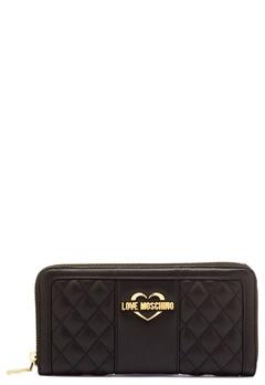 Love Moschino Wallet Black/Gold Bubbleroom.fi