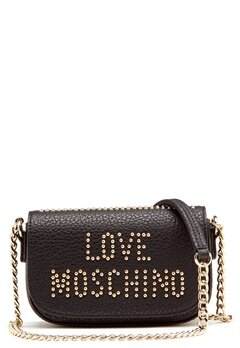 Love Moschino Love New Bag Black/Gold Bubbleroom.fi