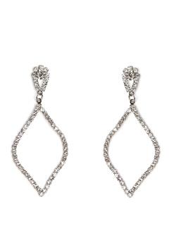 Love Rocks Persian Shape Earring Silver Bubbleroom.fi