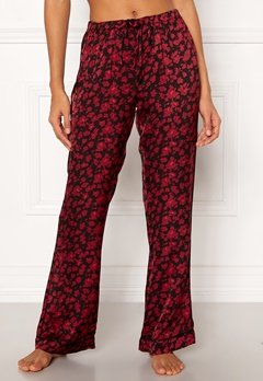 Love Stories Billy Pyjama Pants Bordeaux Bubbleroom.fi