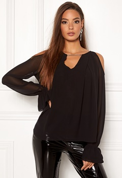Guess LS Selina Top Jet Black A996 Bubbleroom.fi