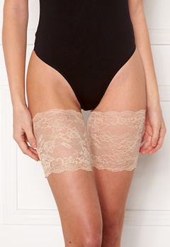 MAGIC Bodyfashion Lace Thigh Band Latte Bubbleroom.fi