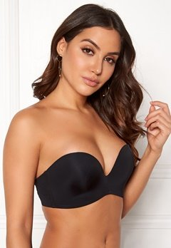 MAGIC Bodyfashion Perfect Strapless Bra Black Bubbleroom.fi