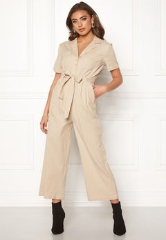 Make Way Adalia jumpsuit Beige Bubbleroom.fi