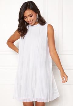 Make Way Agnes pleated dress White Bubbleroom.fi
