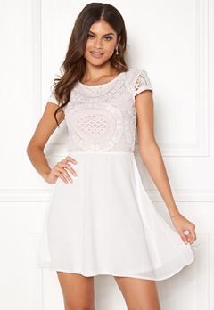 Make Way Aliza dress White / Pink Bubbleroom.fi