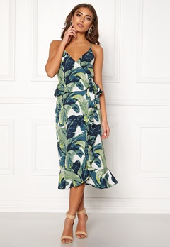 Make Way Analisa dress Green / Patterned Bubbleroom.fi