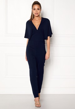 Make Way Ariana jumpsuit Dark blue Bubbleroom.fi