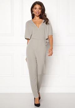 Make Way Ariana jumpsuit Light grey Bubbleroom.fi