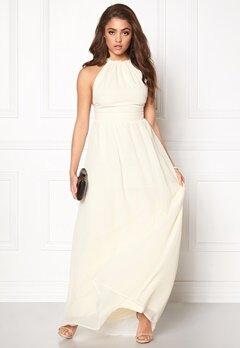 Make Way Cora Maxi Dress Ivory white Bubbleroom.fi
