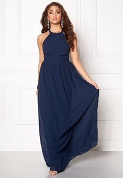 Make Way Cora Maxi Dress Midnight blue Bubbleroom.fi