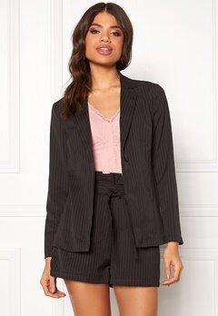 Make Way Disa soft blazer Black / White / Striped Bubbleroom.fi