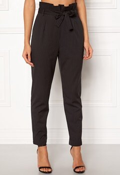 Make Way Disa trousers Black / White / Striped Bubbleroom.fi
