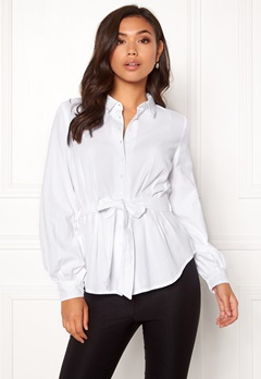 Make Way Donna blouse White Bubbleroom.fi